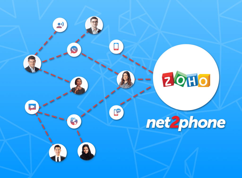business phone systems integration with Zoho